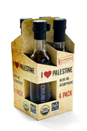 I Love Palestine Olive Oil 4-pack gift bag