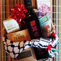 Gift from Palestine holiday gift basket