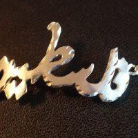 Falasteen silver bracelet