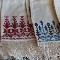 Embroidered scarf, Palestine