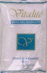 Dead Sea Crystal Salts
